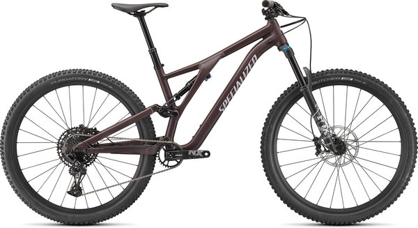 Specialized Stumpjumper Comp Alloy - Braun/Rot